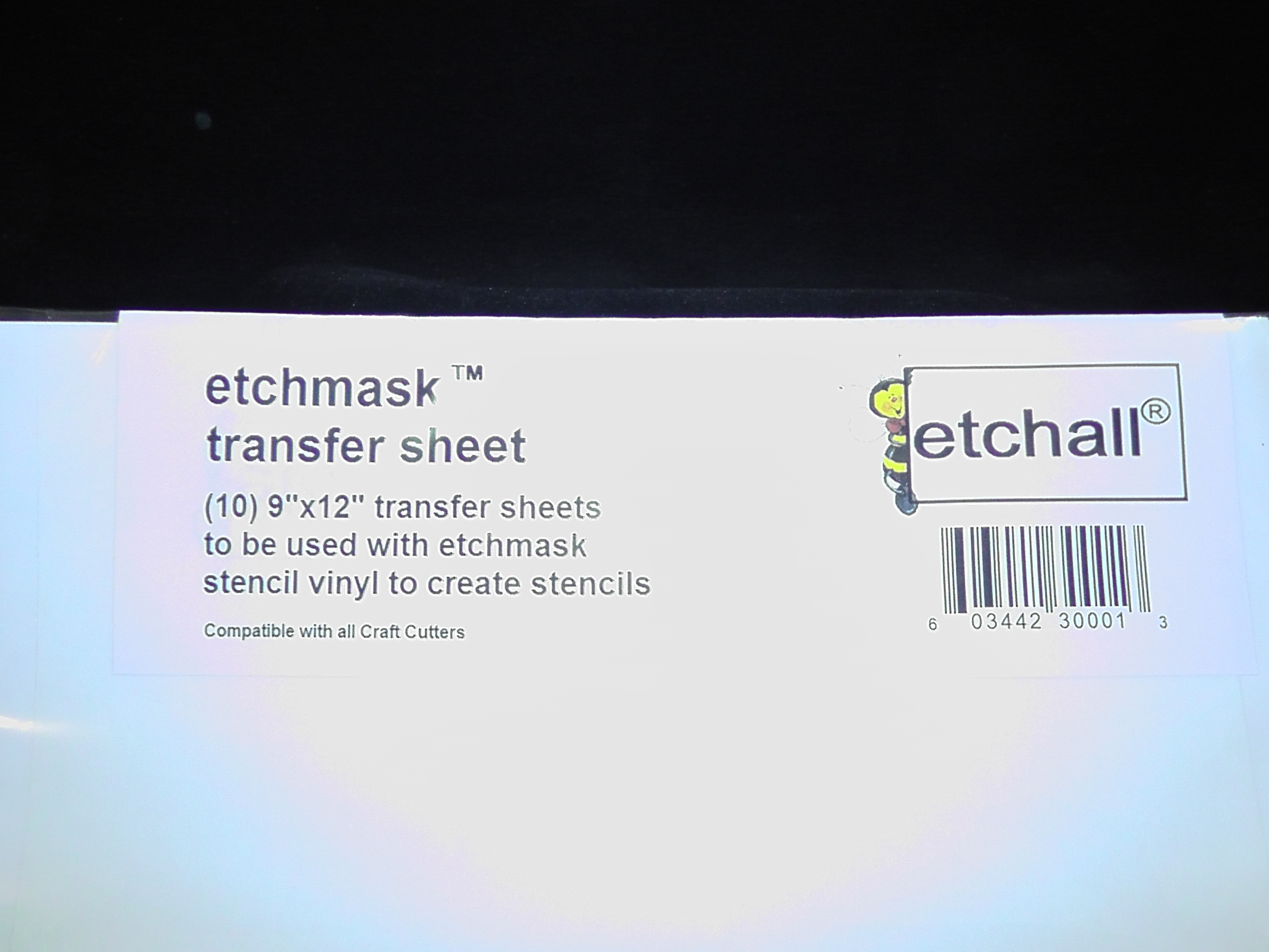 Etchmask Transfer Sheet